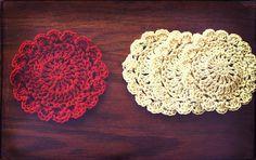 Ravelry: Little Petal Coaster free pattern by Amanda Tipton