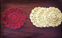 Ravelry: Little Petal Coaster free pattern by Amanda Tipton