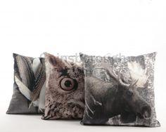 Velvet Cushion Photoprint, 3a @ gainsboroughgiftware.com Animal Cushions, Velvet Cushions, Squirrel, Woodland, Throw Pillows, Eland, Animals, Google Search, Christmas