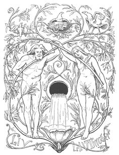Líf and Lífthrasir by Lorenz Frølich (1895). Líf and Lífþrasir, the two humans that will survive Ragnarök , by hiding in the wood Hoddmímis holt. These two survivors consume the morning dew for sustenance, and from their descendants the world will be repopulated.