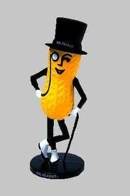 Planter's Mr. Peanut Bank. I had one and sold it years ago!