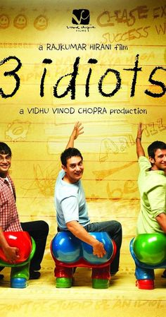 "Directed by Rajkumar Hirani.  With Aamir Khan, Madhavan, Mona Singh, Sharman Joshi. Two friends are searching for their long lost companion. They revisit their college days and recall the memories of their friend who inspired them to think differently, even as the rest of the world called them ""idiots""."