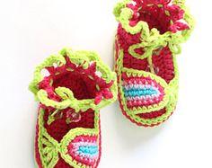 Crochet Baby Sandals Pattern, Baby Sandals Crochet Pattern, Crochet Sandal Pattern, Crochet Baby Pattern, Baby Girl Crochet Shoes Pattern