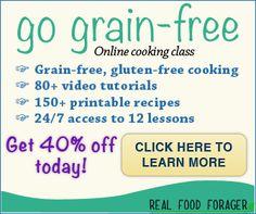 Recipe: Grain-Free Cinnamon Breakfast Bar