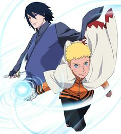 Boruto Naruto the Movie : Sasuke and Naruto
