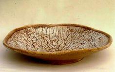 M.Wein global warming series large stoneware plater