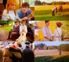 Anne of Green Gables - Jonathan Crombie as Gilbert Blythe & Megan Follows as Anne Shirley