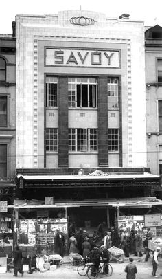 I remember the Capitol and Lee cinemas, but I don't remember The Ritz and I was never in the Savoy before the cinema was shut down. via Bells of Shandon. Old Irish, Cinema Theatre, Camera Obscura, Old Photos, Cork, Broadway, Theatres, Buildings, College