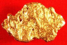 Australian Natural Gold Nugget