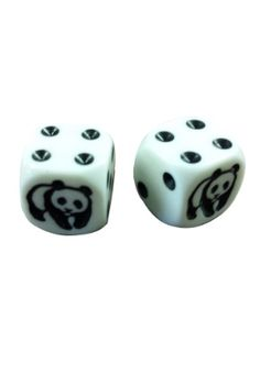 Panda Dice  #noveltydice #lasvegas #dice #pandas #unique www.gamblersgeneralstore.com