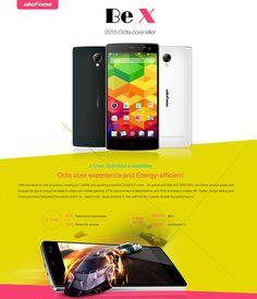 DealsMachine: 4.5 inch ulefone BE X Android 4.4 3G Smartphone MTK6592M 1.4GHz Octa Core qHD Screen 1GB RAM 8GB ROM OTG GPS Bluetooth WiFi