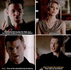 "#TheOriginals 3x15 ""An Old Friend Calls"" - Freya, Klaus and Elijah"