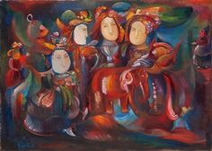 Red Elephant and Fairytale Actresses By Gayane Khachaturian ,2007