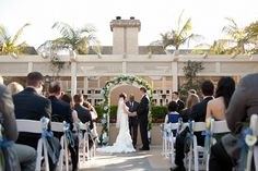Say your vows in our charming outdoor courtyard.