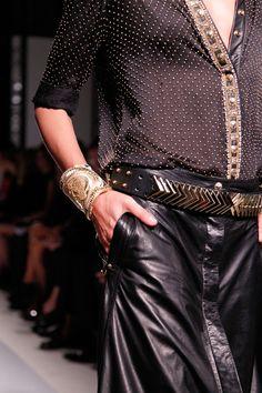 Looks like feels like bebe fashion! Balmain is genius!