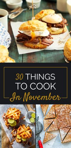 30 Delicious Things To Eat In November, featuring recipes from our own @loveandlemons, @minimalistbaker, and @heatherchristo