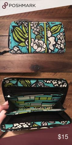 Vera Bradley wallet Larger size Vera Bradley wallet. Used but very lightly. Fantastic condition. Vera Bradley Bags Wallets