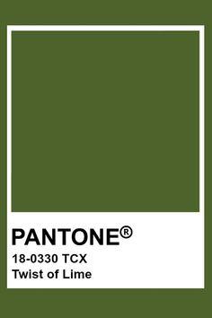 Pantone Twist of Lime Pantone Tcx, Pantone Swatches, Color Swatches, Pantone Colour Palettes, Pantone Color, Colour Pallette, Colour Schemes, Textiles, Colour Board