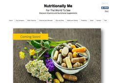 Wix Arena - NutrionallyMe by Memi-x Wix Website Designer Great Chicago Area Chicago Area, Vitamins And Minerals, Herbalism, Web Design, Website, Herbal Medicine, Design Web, Website Designs, Site Design