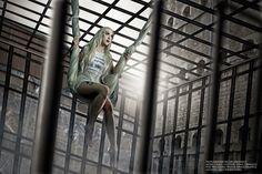 Suicide squad Harley Quinn concept jail