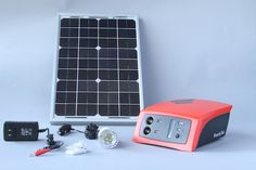 The Fenix ReadySet is an intelligent battery system that can be charged from solar, electric grid, and even a bicycle generator to charge mobile phones, tablets, WiFi hotspots and other devices