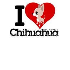 I love heart Chihuahua - Cartoon Chi Raza Chihuahua, Chihuahua Art, I Love Dogs, Puppy Love, Cute Dogs, Animals And Pets, Funny Animals, Cute Animals, Miss My Dog