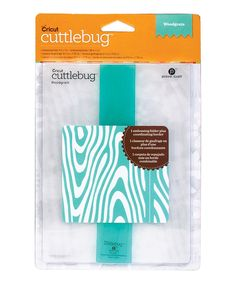 Look at this Cuttlebug Woodgrain Embossing Folder & Border on #zulily today!