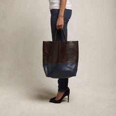 Brown and Blue Milano Bag found on Zady - www.zady.com/products/alice-d-brown-and-blue-milano-bag - via @zadypins #zady #style #fashion #alice.d