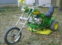 interesting way to cut the grass