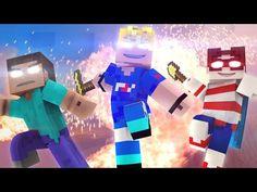 ♫ Wanted Men ♫ (Minecraft Original Music Video) - Minecraft Animation - FrediSaalAnimations - YouTube