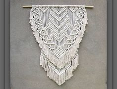 Extra large macrame wall hanging Large wall decor Bohemian tapestry Boho home decor Living room decor Modern macrame Christmas gift for her