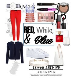 """""""Untitled #30"""" by ajengans on Polyvore featuring J Brand, adidas, Pure Collection, Maybelline, L'Oréal Paris, Becca, Smashbox, Essie, Kate Spade and Humble Chic"""