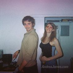 A very, very young Lee and Andrea James on 2005. Source Andrea James Twitter.