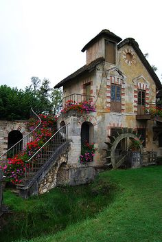 Another view of Barbara Kang's pin - side of grist mill by {Jessica Louise}, via Flickr