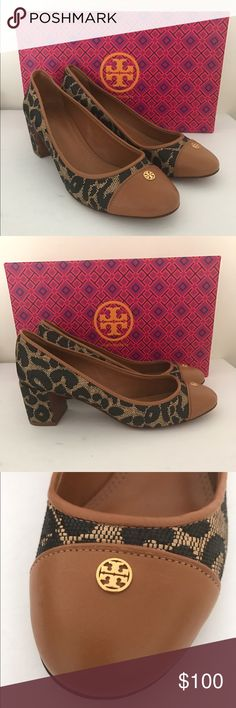 TORY BURCH Ethel Leopard Print Pumps Excellent condition, comes with box. Tory Burch Shoes Heels