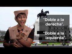 """Clases de español con: """"El Guía Turístico""""- Pidiendo direcciones - YouTube"""