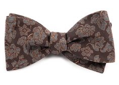 INTELLECT PAISLEY BOW TIES - DARK BROWN | Ties, Bow Ties, and Pocket Squares | The Tie Bar