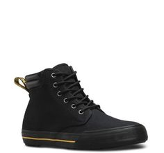 Eason 6 Eye Canvas Dr. Martens Chukka Boot- Black