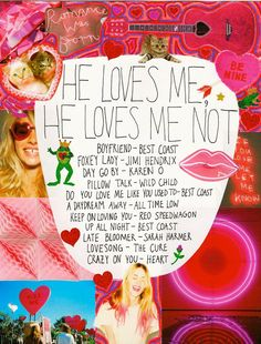 He Loves Me, He Loves Me Not: A Playlist by Hope Lennox