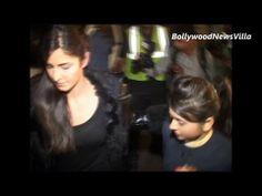 Katrina Kaif MOBBED by media at Mumbai Airport.