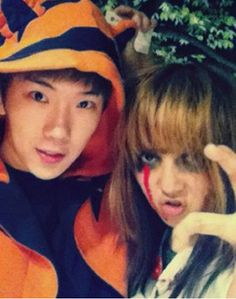 Jo Kwon and Min ^^ Kpop Halloween Costume, Captain Hat, Hats, Fashion, Moda, Hat, Fashion Styles, Fashion Illustrations, Fashion Models