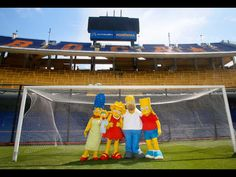 The Simpsons en La Bombonera, Boca Juniors.