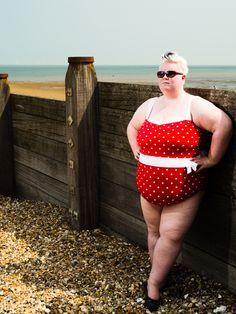 Mariana sexy!!!,?.   Fat girls can and do wear bright swim wear!!
