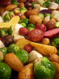 Roasted Vegetables with Lemon and Herbs recipe