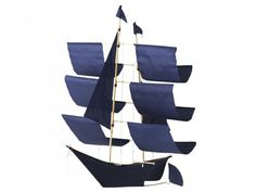 Haptic Lab - Indigo Sailing Ship Kite