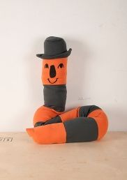 MR. COOK Orange Doudou...  Is a Doudou a snake?  :(