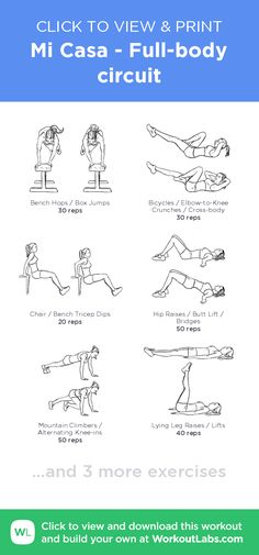 c5b63f5b8 Mi Casa - Full-body circuit – click to view and print this illustrated  exercise