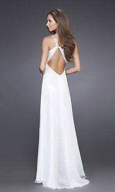 "Aqua La Femme Dress 15361 LF-15361a  Style: LF-15361a  Name: Aqua La Femme Dress 15361  Closure: Zipper  Details: Beaded Feature, Front Slit  Length: Floor Length  Neckline: Sweetheart, One-Shoulder Strap  Waistline: Natural"""