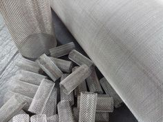 Stainless woven wire cylinders - Robinson Wire Cloth Ltd.