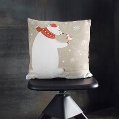 Almohada de invierno Regalos de Navidad Funda por wfrancisdesign